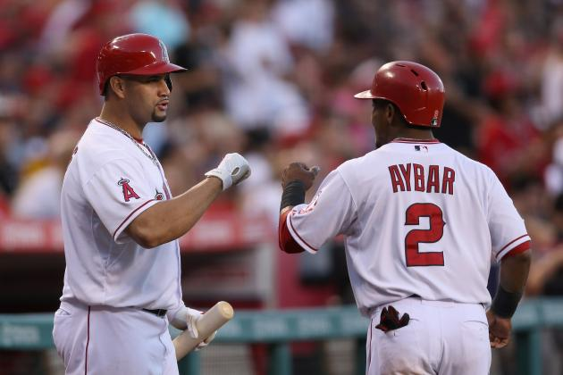 Aybar Credits Pujols with Helping Calm His Approach