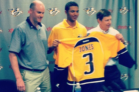 Instagram: Preds Welcome Jones After Signing Deal