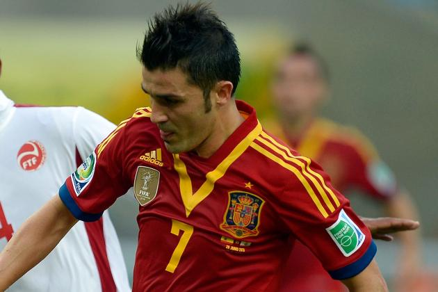 David Villa: Diego Simeone Convinced Me to Join Atletico Madrid
