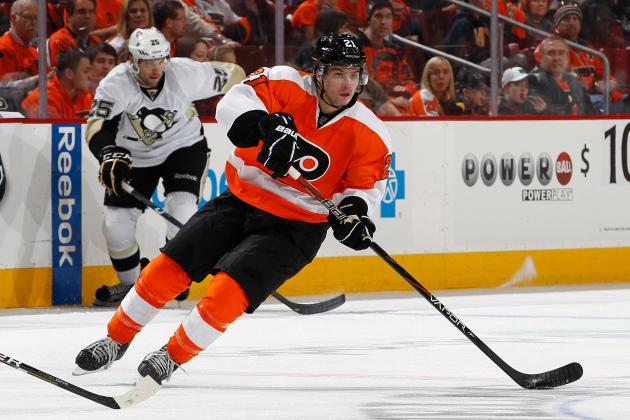 Laughton Hoping for a Longer Look from Flyers