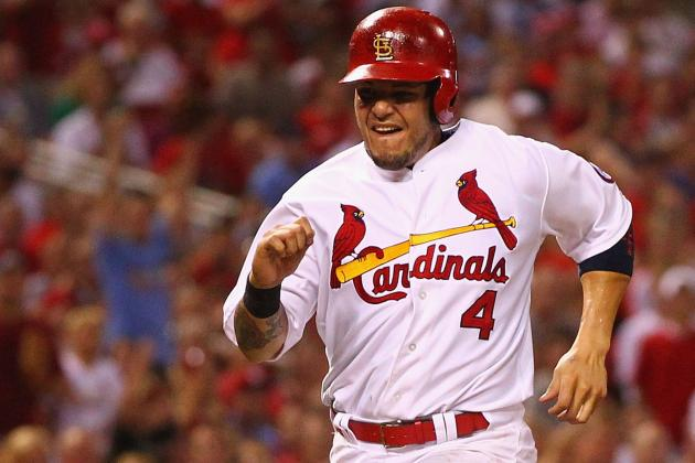 Yadier Molina Injury: Cardinals to Give All-Star Catcher More Days off