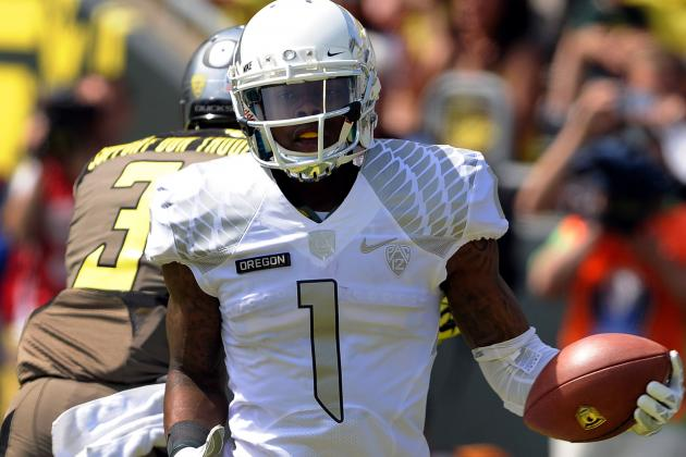 Don't Hassle the Huff: Oregon'S Senior Wideout Primed for a Breakout Year