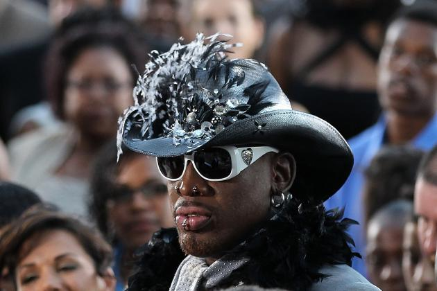 Dennis Rodman Is Releasing 'Bad Boy Vodka,' so Prepare Shot Glasses Accordingly
