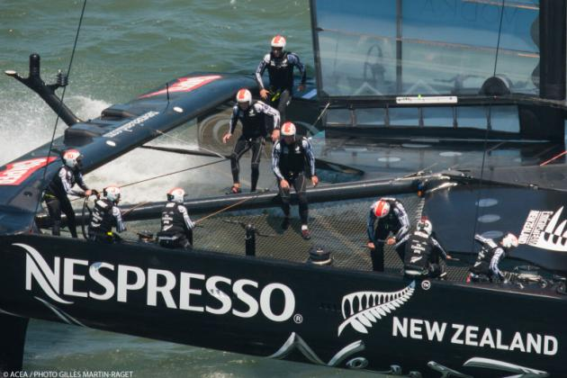 Emirates Team New Zealand Continues to Impress in Louis Vuitton Cup