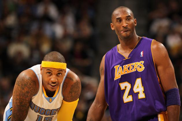 Lakers Rumors: Carmelo Anthony and Kobe Bryant Would Be Dynamic Duo