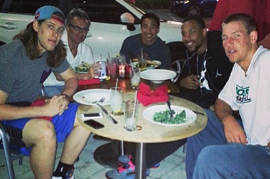 Instagram: Celtics' Future Has Dinner in Florida