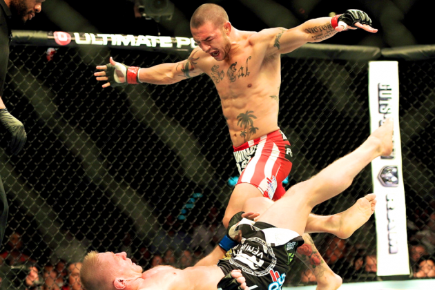Cub Swanson: Focused on Title Following Beautiful Destruction of Dennis Siver