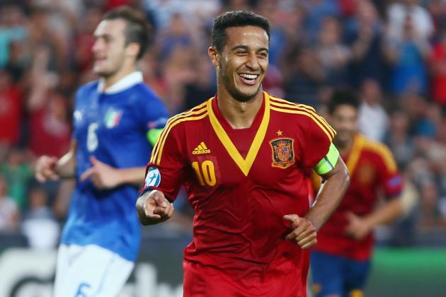 Manchester United Transfer News: Stevan Jovetic, Thiago Alcantara and More