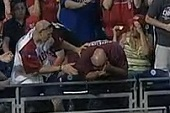 Insult to Injury: Phillies Fan Smoked in the Head by Nats Home Run Ball