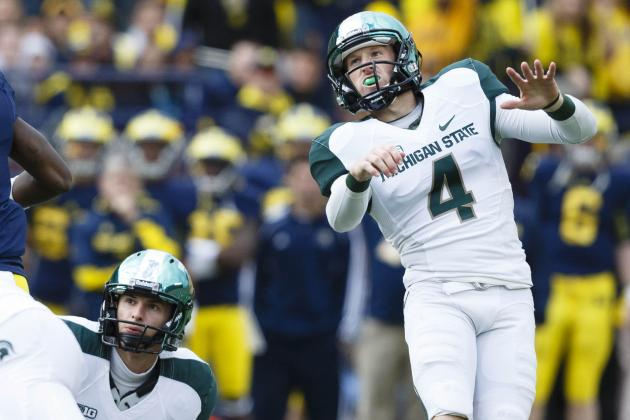 Michigan State All-Big Ten Punter Mike Sadler on Ray Guy Watch List