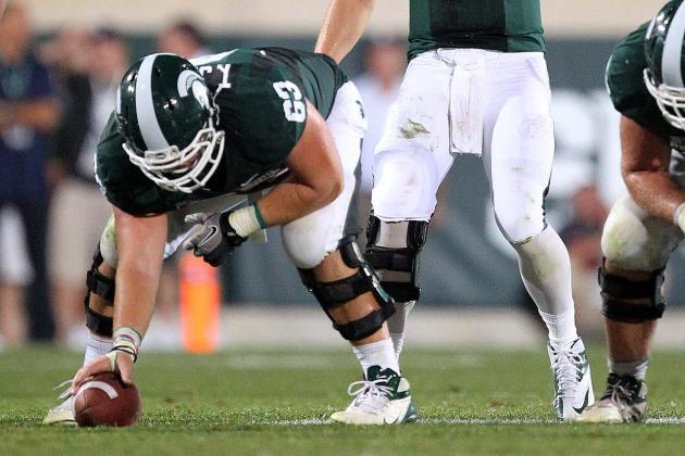 Travis Jackson Is on the Preseason Watch List for the Rimington Trophy
