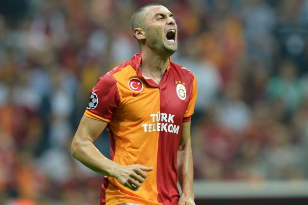 Liverpool Transfer Rumours: Burak Yilmaz Would Be Solid Luis Suarez Replacement