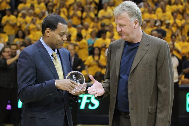 Larry Bird, Frank Vogel Put Indiana Pacers Focus on NBA Champion Miami Heat