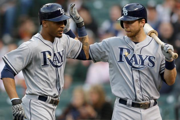 Desmond Jennings and Ben Zobrist out Today vs. Twins