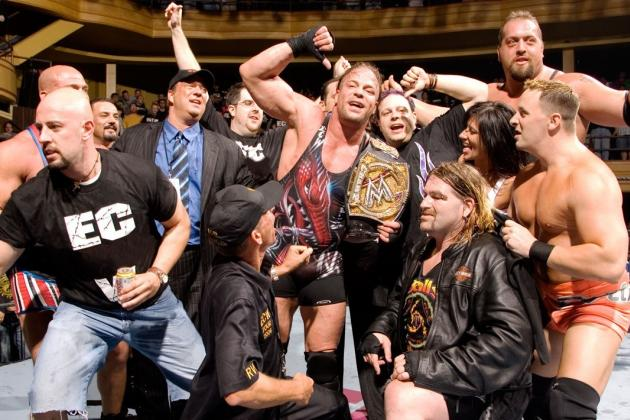 Rob Van Dam's Spot as a WWE Legend