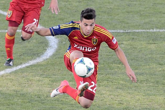 RSL Midfielder David Viana Waived, Opening Roster Spot with Window Open