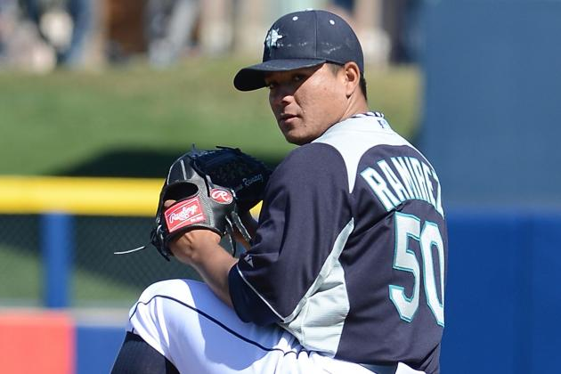 Mariners Recall Erasmo Ramirez to Start Today vs. Red Sox