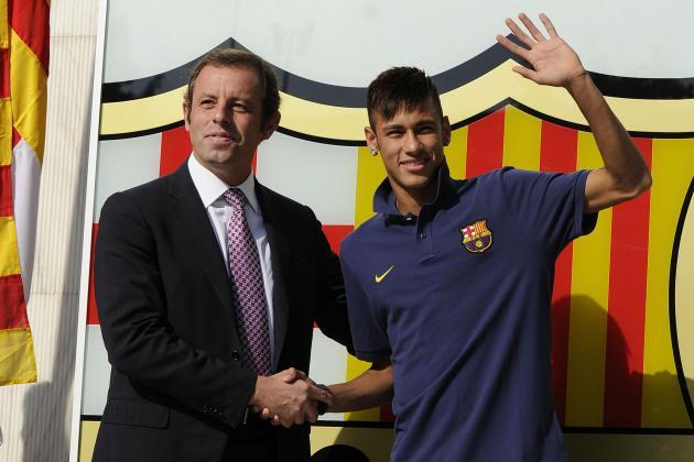 Santos Receive Only €9.35m from €57m Neymar Sale