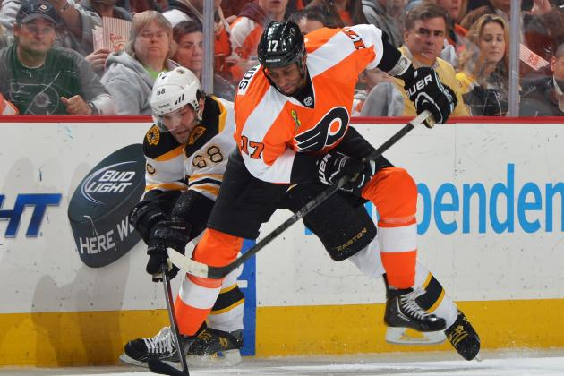 Simmonds on Ilya Bryzgalov's Absence: 'I Think It Will Help'