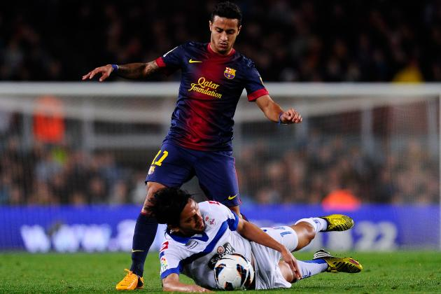 Thiago Alcantara Signing with Bayern Munich Would Be Mistake for Young Star