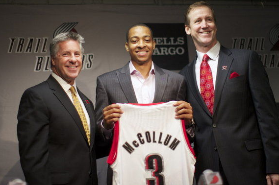 Trail Blazers Sign Rookie CJ McCollum