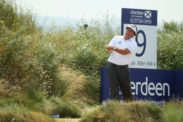 Scottish Open 2013: Breaking Down Each Star's Round 1 Score
