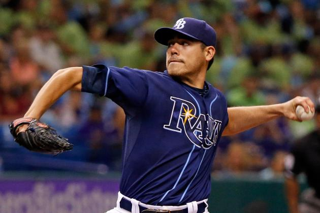 Moore Wins 13th as Rays Extend Streak to 8