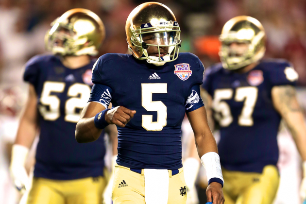 Everett Golson's Return to Notre Dame Sets Up Fascinating QB Battle in 2014