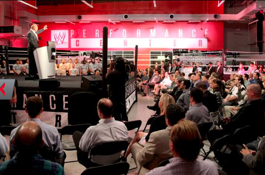 WWE Unveils New Performance Center