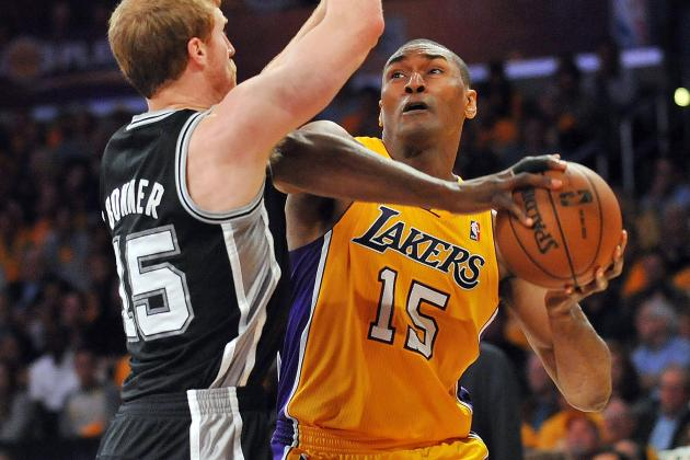 Lakers Officially Waive Metta World Peace