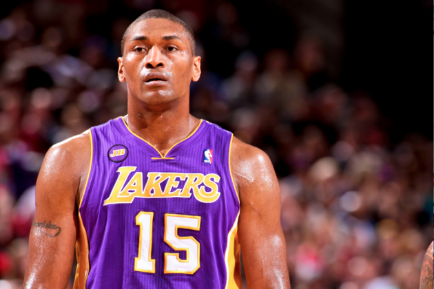 Metta World Peace Officially Amnestied By Los Angeles Lakers