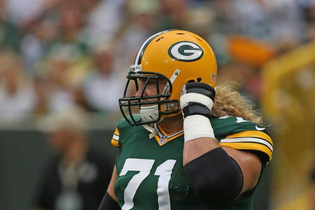 Sitton Adjusting to New Role as Leader on Packers' Young Offensive Line