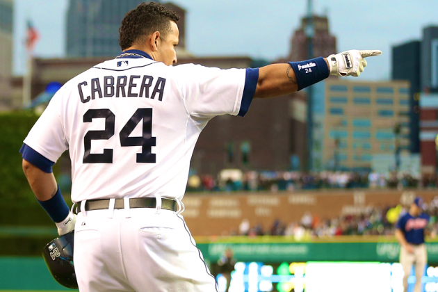 Miguel Cabrera Makes MLB History with 30 HR, 90 RBI Before All-Star Break