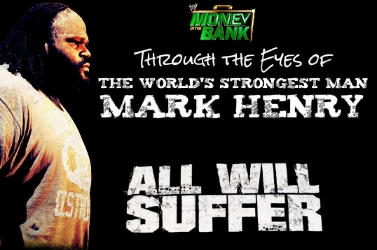 Money in the Bank: WWE Championship Match Preview Through the Eyes of Mark Henry