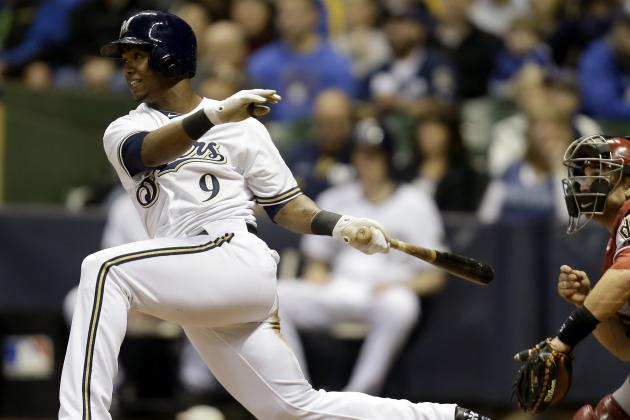 Brewers Recall Khris Davis