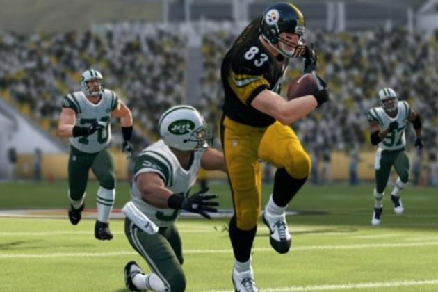 Madden 13 Steelers Roster Review: Offensive Edition