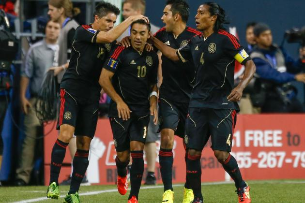 Mexico vs. Canada: Gold Cup Live Score, Highlights, Recap