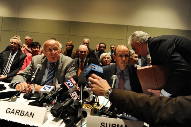 Ex-Penn State President Spanier Sues Freeh
