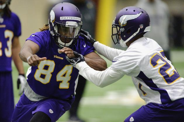 Vikings Still Have Some Questions at Receiver Position
