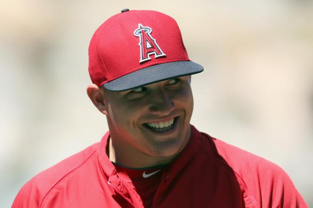 Mike Trout Lived in Parents' New Jersey Basement During MLB Offseason