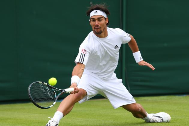 Fognini Beats Haas to Reach Stuttgart Semifinals
