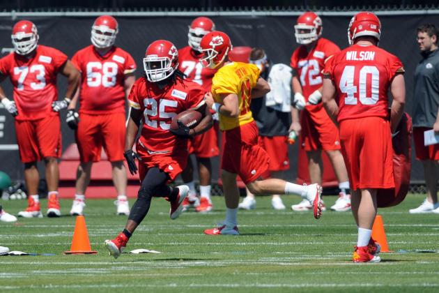 Jamaal Charled, Chiefs Working out in Florida