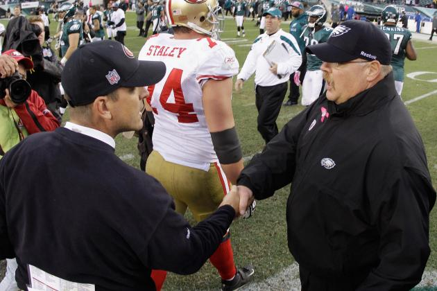 Andy Reid Credits Jim Harbaugh with Alex Smith Development