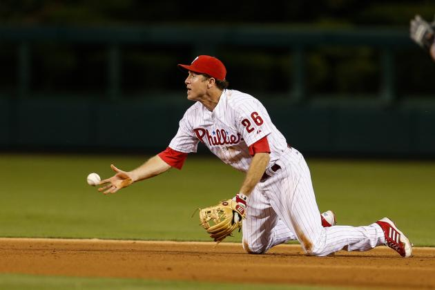 Utley Sitting Tonight vs. White Sox