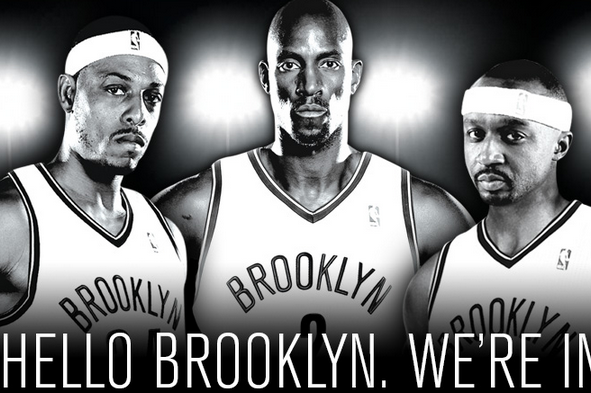 Image: Newest Nets Say Hello to Brooklyn