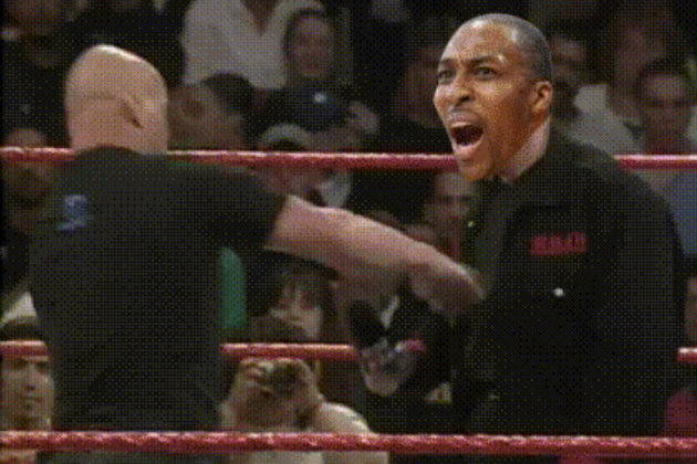 Stone Cold Steve Austin Hits Dwight Howard with The Stunner