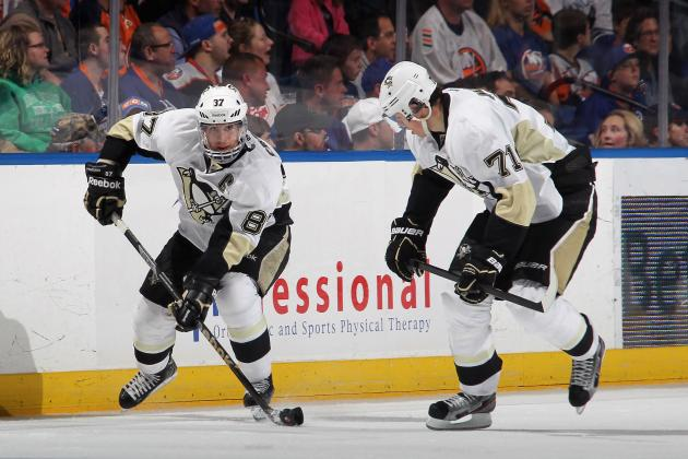 2013 Pittsburgh Penguins Forwards Pairings
