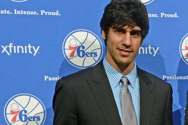 76ers Rookie Kazemi Carries Iran into NBA