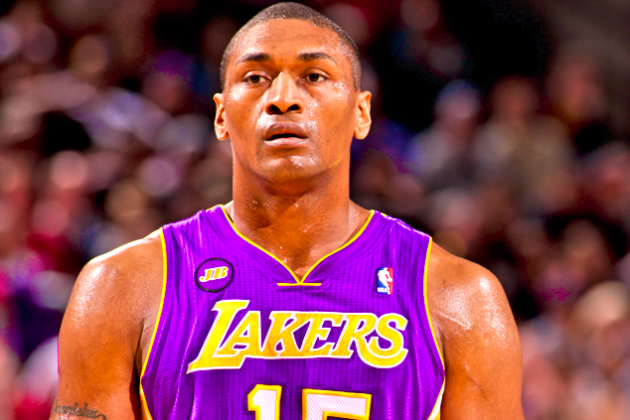 Metta World Peace Says He Doesn't Want to Play in NBA Next Season, Eyeing China