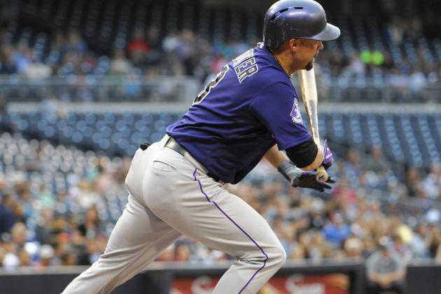 Cuddyer Sitting -- Tonight's Lineup vs. Dodgers
